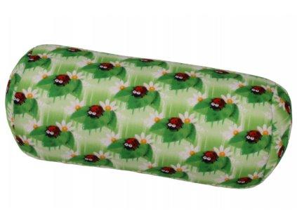 Relaxační polštář válec - berušky