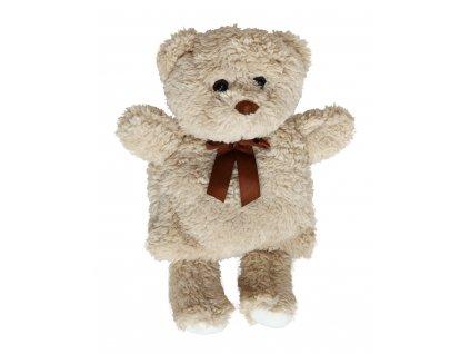 Nahřívací plyšák s třešňovými peckami - medvídek