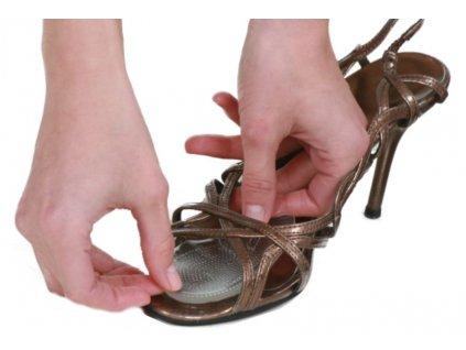 Gelová výstelka do bot