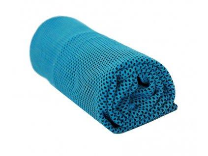 Chladící ručník modrý 32 x 90 cm