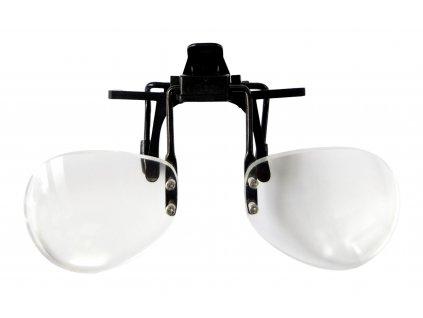 Lupa na brýle