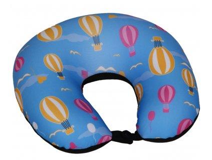 Cestovní polštář podkova - balóny
