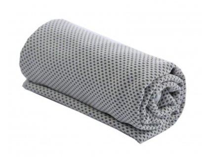 Chladící ručník šedý 32 x 90 cm