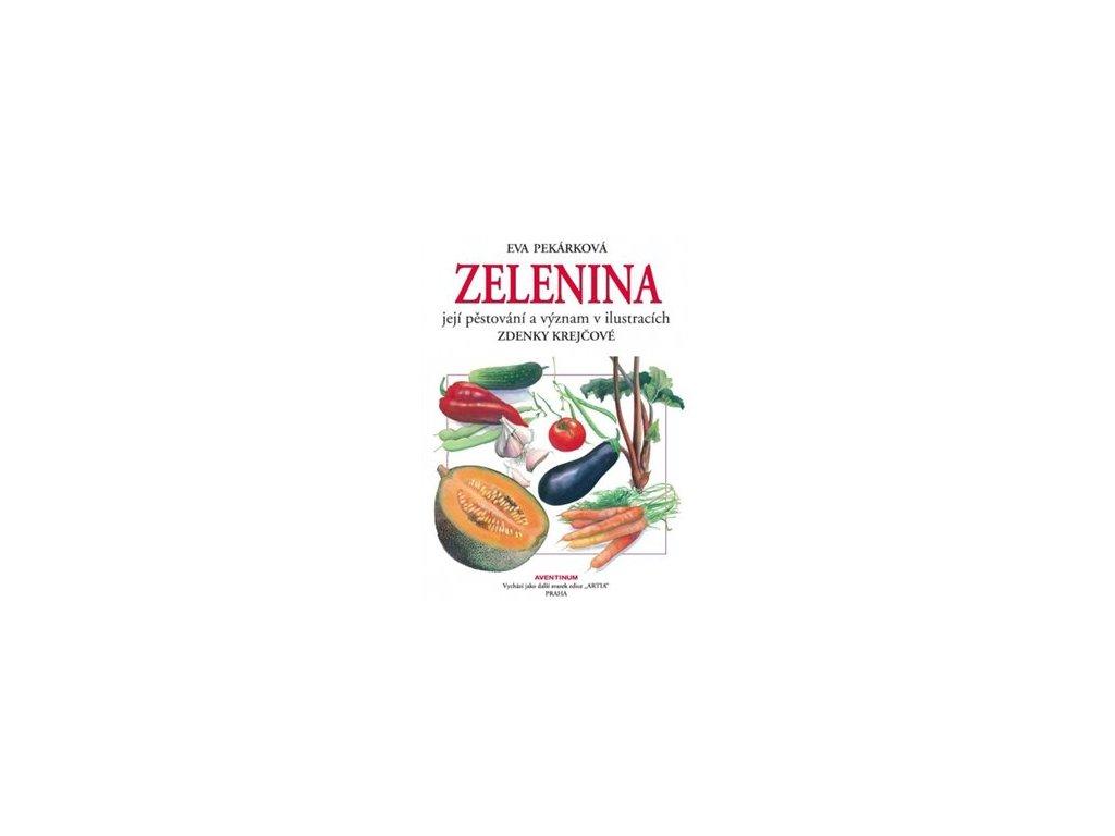 Zelenina a její pěstování a význam v ilustracích Zdenky Krejčové