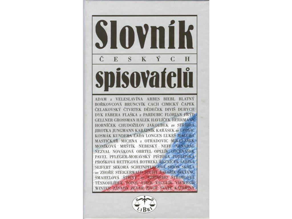 Slovník českých spisovatelů