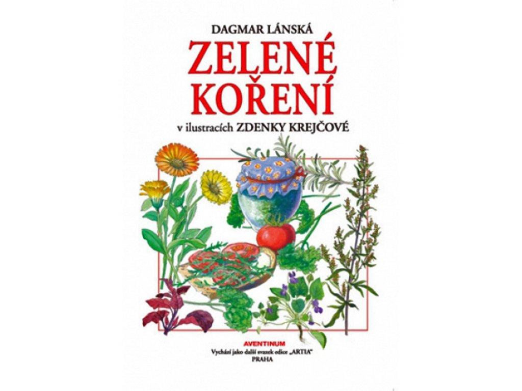 Zelené koření v ilustracích Zdenky Krejčové