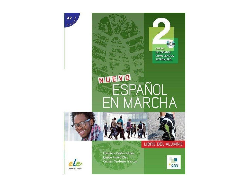 Nuevo Espanol en marcha 2 - učebnice + CD