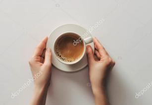 Středně pražená káva