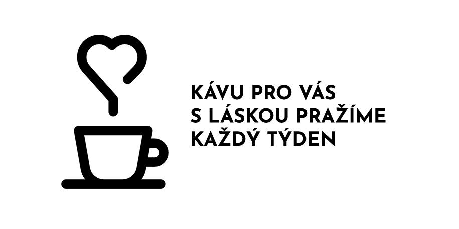 kávu pražíme s láskou