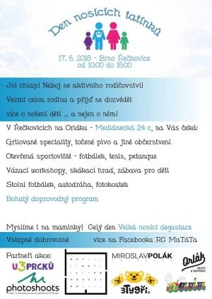 Moisha na Dni nosících tatínků v Brně 17. 6. 2018