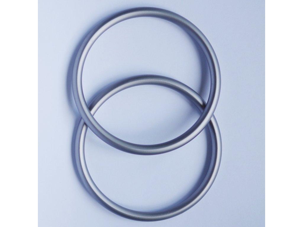 Ring sling kroužky na nošení dětí Šedé