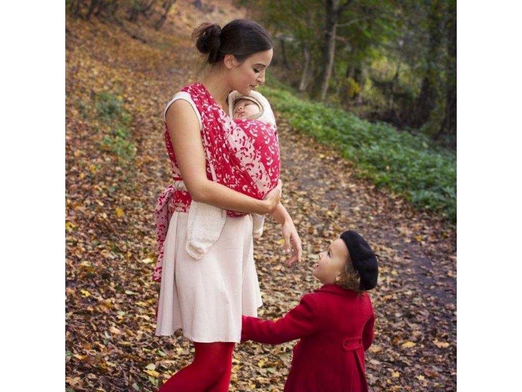 e055dae6917 Šátek na nošení dětí Moisha Herbejo Ruby