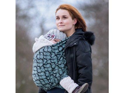 Moisha Filigrán Ice Flowers  Šátek na nošení dětí