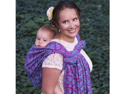 Šátek na nošení dětí Moisha Filigrán Fairy