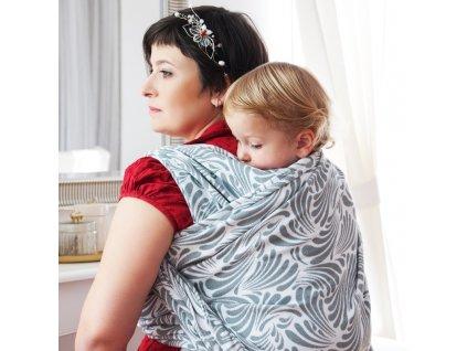 Šátek na nošení dětí Moisha Zephyr Detifoss