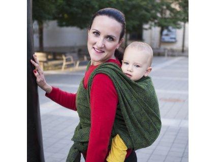 Šátek na nošení dětí Moisha Monili Malachit