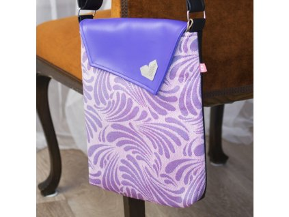 Kabelka crossbody Lovemusic by Moisha zephyr sakura sky