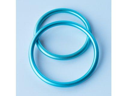 Ring sling krouzky svetle modre