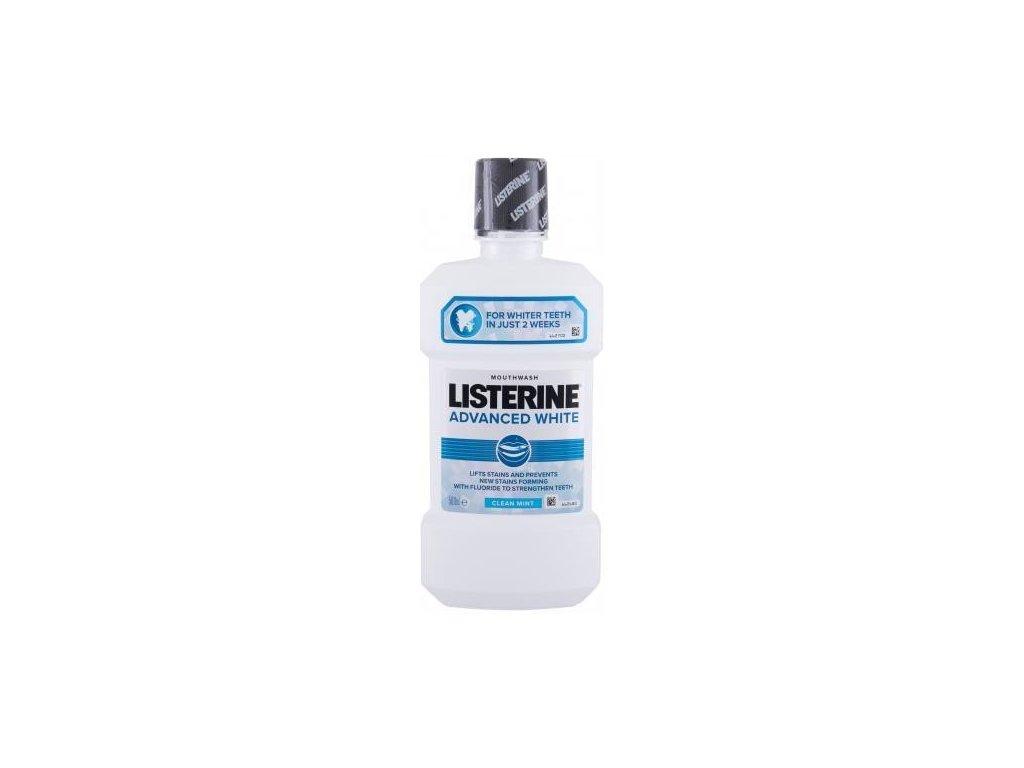 Listerine 500ml Advanced White - Clean mint
