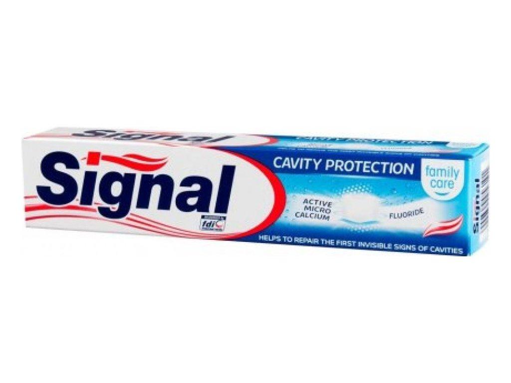 Signal zubná pasta 75ml Family Cavity Protection