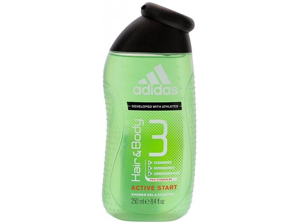 Adidas Active Start sprchový gél 250 ml