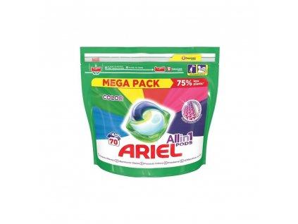 ARIEL All in 1 Gélové kapsuly - Color Mega Pack  70ks