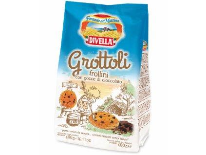 Čajové pečivo Grottoli Al Cioccolato 400g