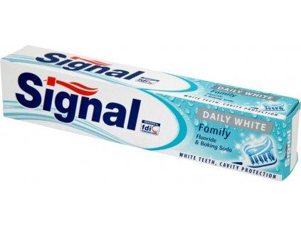 Signal zubná pasta 75ml Daily White