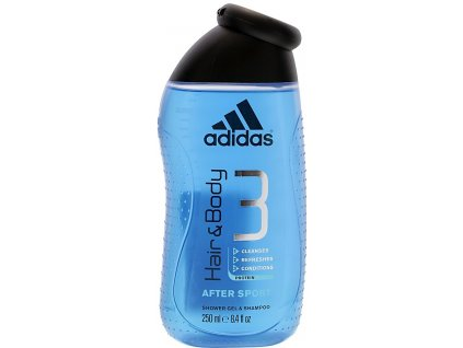 Adidas Active After Sport sprchový gél 250 ml