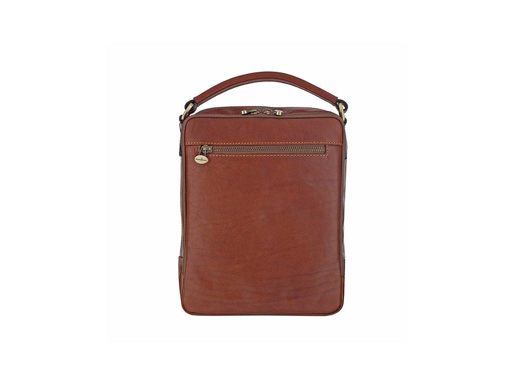 9c8f27fba1 Luxusná pánska kožená taška Gianni Conti 912315 - MojaKabelka.sk