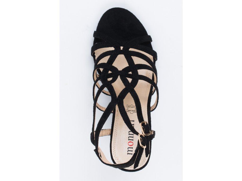 91a49c1fca9f Dámske sandálky Monnari BUT 0290 čierne Dámske sandálky Monnari BUT 0290  čierne ...