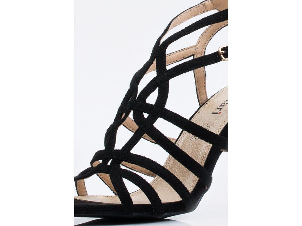92e2da3183b2 Dámske sandálky Monnari BUT 0290 čierne - MojaKabelka.sk