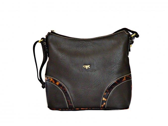 Luxusná kabelka GIL HOLSTERS G 823652 hnedá
