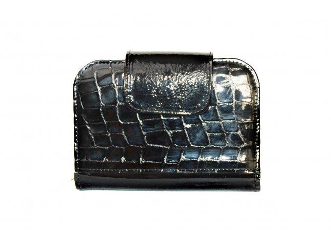 Čierna kroko peňaženka