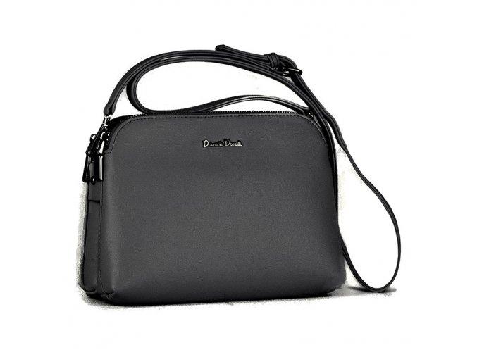 Luxusná crossbody kabelka Daniele Donati čierna