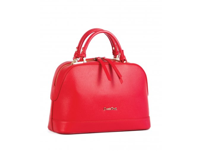 Luxusná kabelka Daniele Donati červená