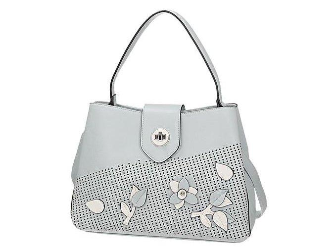Luxusná dámska kabelka svetlo modrá