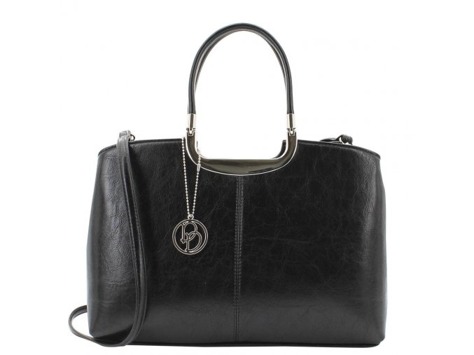 Luxusná kabelka Daniele Donati 01.907.00 čierna