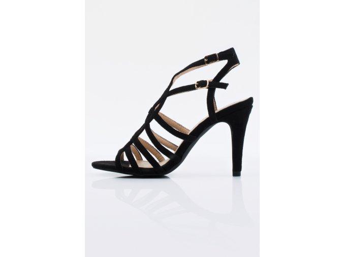 Dámske sandálky Monnari BUT 0290 čierne