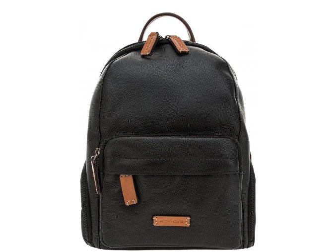 Luxusný kožený vak Gianni Conti 2604376 čierny