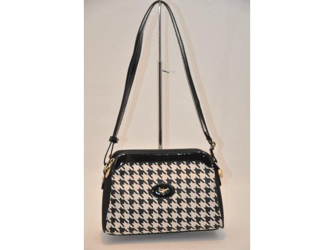 Crossbody kabelka Gil Holsters v čiernobielej farbe