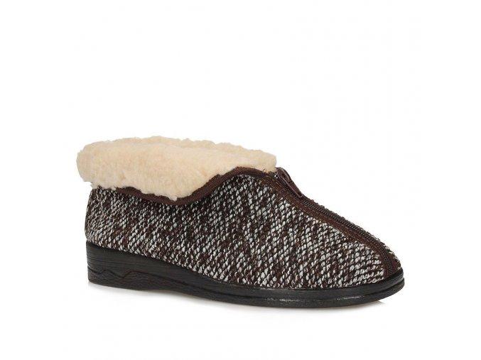 Dámske papuče pre seniorov ADANEX BIO 14677