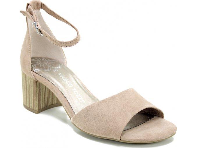 Sandálky Marco Tozzi 2-28316-24 pudrová