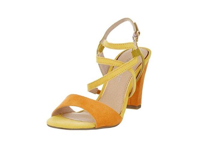 Sandálky Marco Tozzi 2-28350-24 žlté