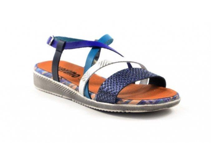 Luxusné celokožené sandálky VERANO 3435
