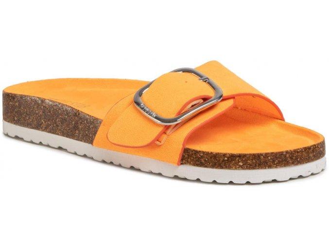 Dámske šlapky BIG STAR FF274794 oranžové