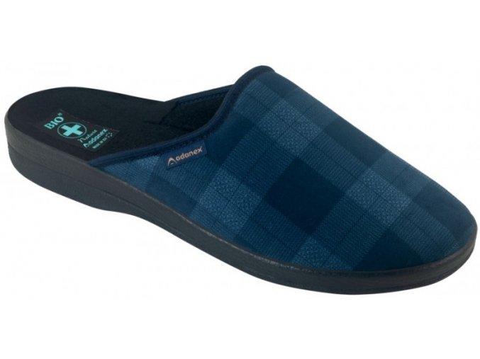 Pánske papuče Adanex BIO 25572 modré