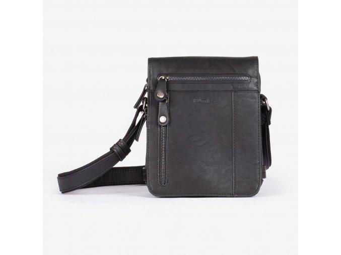Pánska crossbody taška MATTIES 6593 čierna