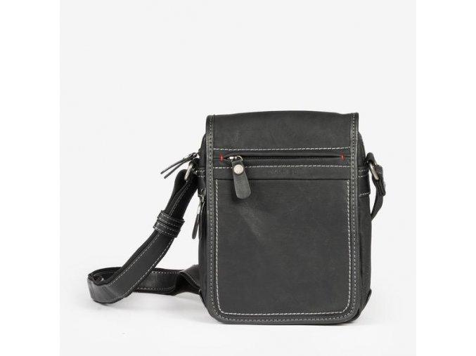 Pánska crossbody taška MATTIES 6201 čierna