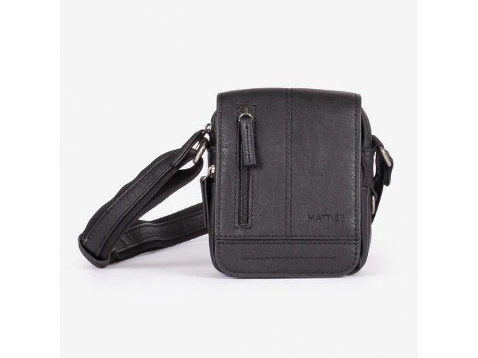 Pánska crossbody taška MATTIES 6443 čierna